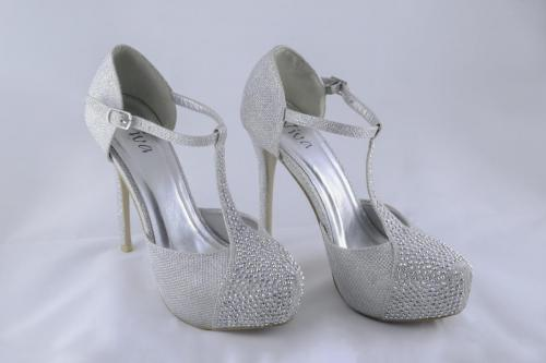 Photographers of Las Vegas - Product Photography - Silver Wedding Shoes