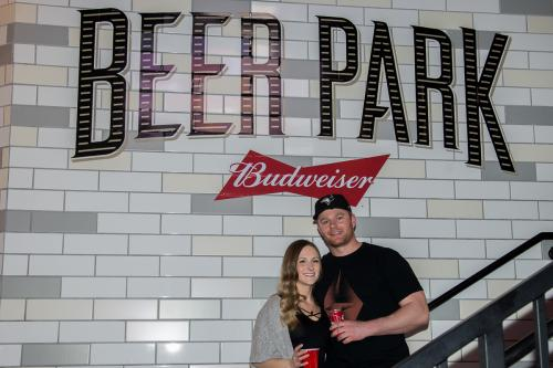 Photographers of Las Vegas - Portrait Photography - couple at beer park in vegas
