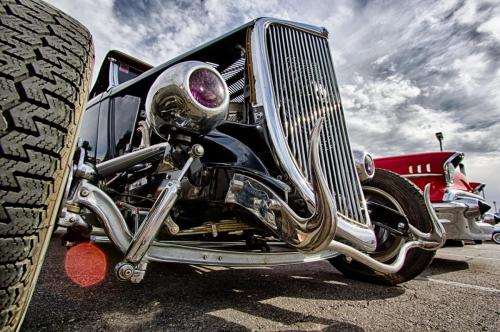Photographers of Las Vegas - Car Photography - hdr old modified car